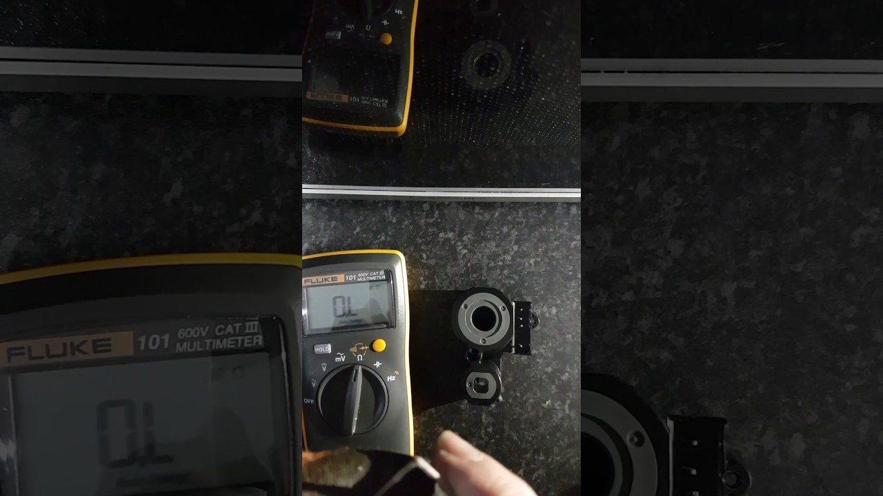 Vokera Compact 29HE Solenoid coil test