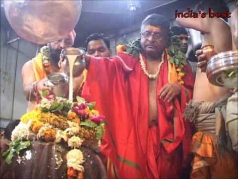 Ravi Shankar Prasad visit mahakal temple ujjain | Minister of Law and Justice of India