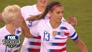 Alex Morgan looking to continue scoring form in World Cup Qualifiers | FOX SOCCER