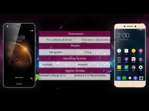 Huawei Y6 II Compact Vs LeEco Le Pro 3 X722 - Phone Comparison