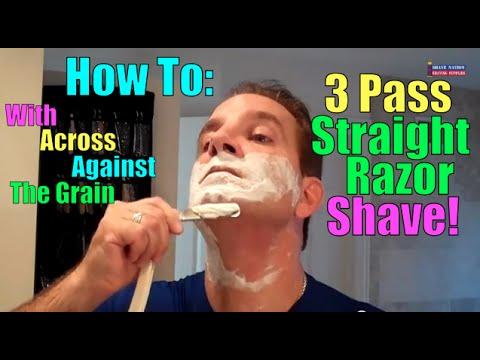 Boker Edelweiss 3-Pass Straight Razor Shave
