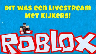 ROBLOX live stream with viewers-I play different Roblox games
