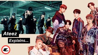 ATEEZ Reacts to ATEEZ on the Internet (에이티즈) | Explain This | Esquire