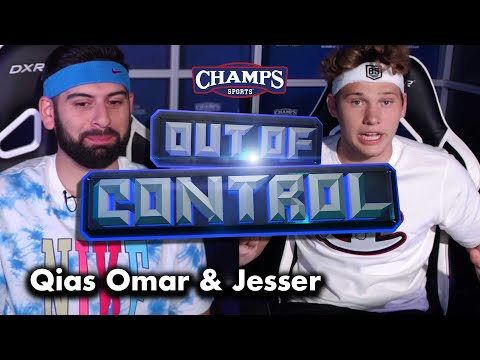 Jesser Challenges Qias Omar In Fortnite For Sneakers! | Out Of Control