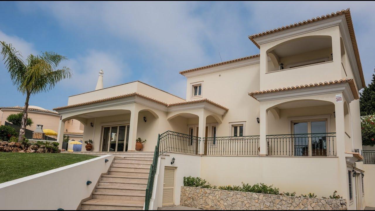 Private Villas In Portugal villa pauline, sea view, air cond, wi-fi, private heatable pool & games room