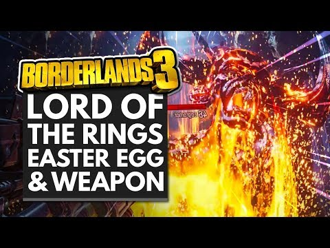Borderlands 3 Lord of the Rings Easter Egg