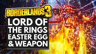Скачать BORDERLANDS 3 LORD OF THE RINGS EASTER EGG UNIQUE WEAPON