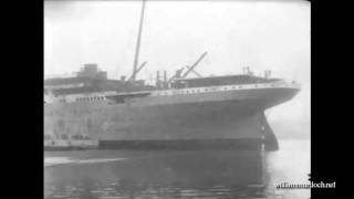 Титаник ексклюзивные кадры 1912  1 часть