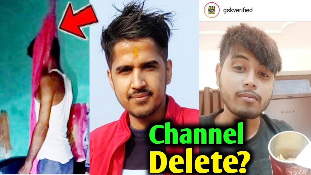 Download GSK verified channel delete?. Rai star give Strike. Desi Gamer. suicide Gyan gaming shocked