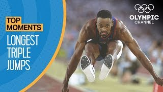Top 3 Longest Ever Olympic Triple Jumps