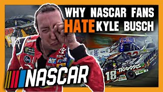 Gambar cover Why NASCAR Fans Hate Kyle Busch