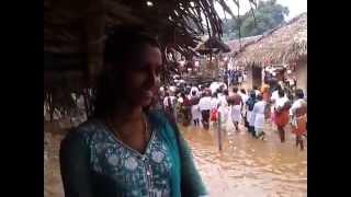 Benny and Revathi in Kottiyoor Temple