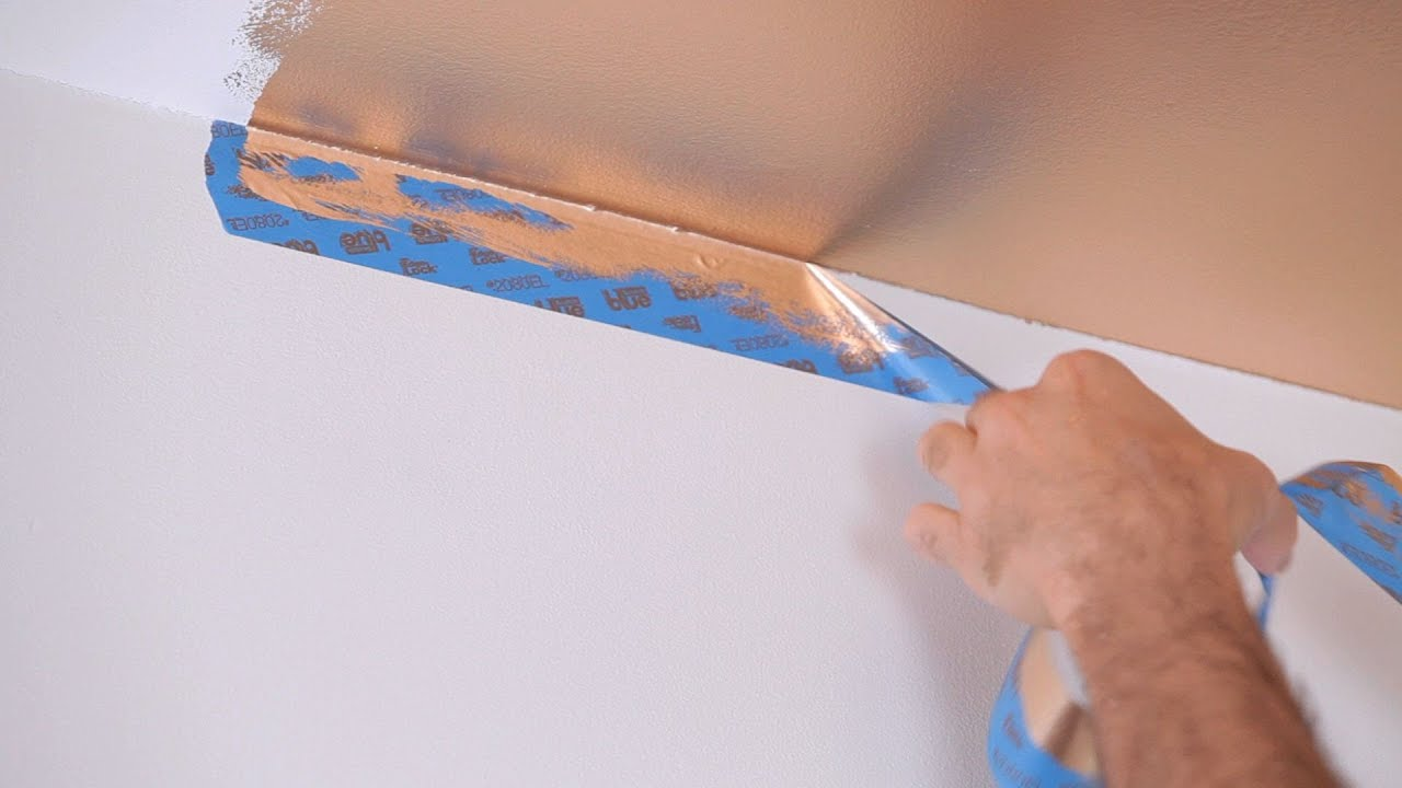 how to paint an accent wall house painting youtube