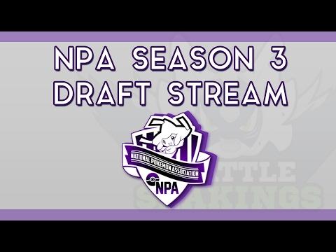 NPA Season 3 Draft Stream | National Pokemon Association