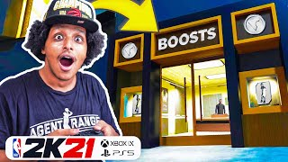 EXPLORING THE CITY, BUILDINGS, NPCs, GARAGES AND COURTS ON NBA 2K21