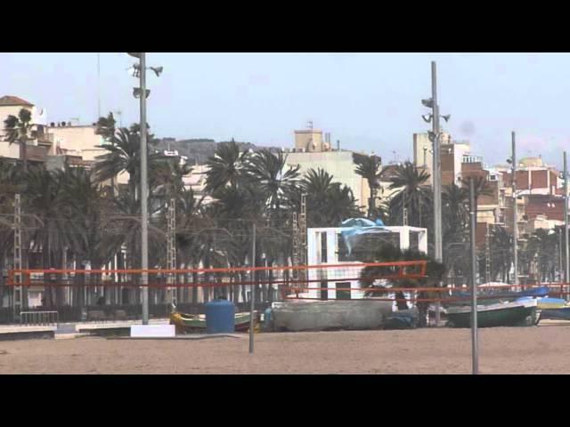 Temporalet de llevant a Badalona  Març 2015  Part 1