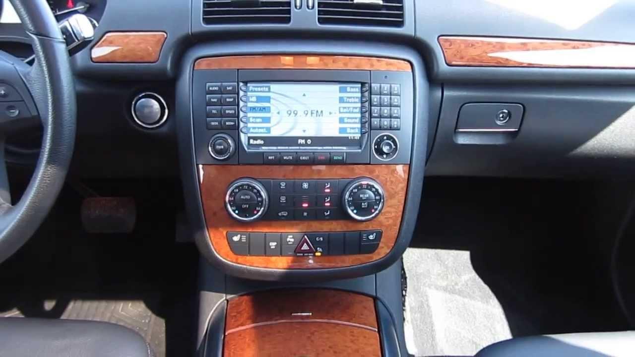 2008 mercedes benz r350  black stock h2101 interior  mercedes benz a interior
