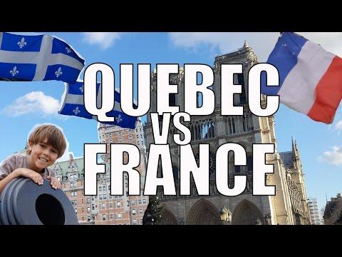 France vs Quebec - Differences Between France & Quebec French