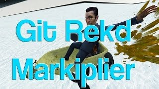 Messing With Markiplier (gmod Sled Build)