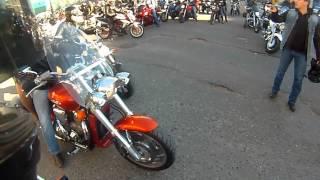 Закрытие мотосезона г,Астрахань 2015. Yamaham Honda, Suzuki, Kawasaki
