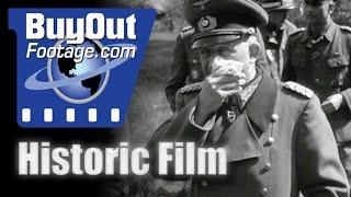 50,000 German Prisoners In Allied Internment Camp 1945