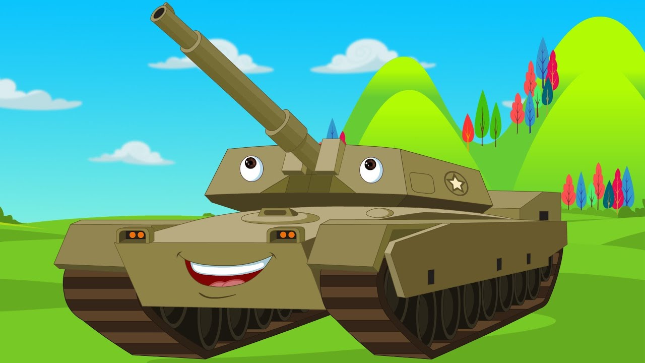 Kids channel tank army song youtube - Army tank pictures ...