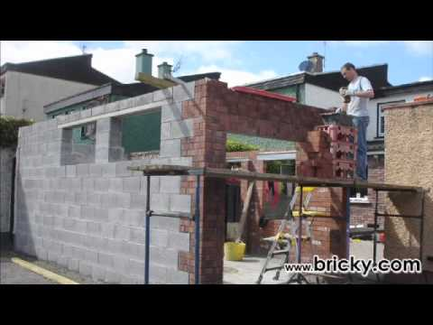 How To Build A Garage Workshop Part 1 YouTube – Cinder Block Garage Plans