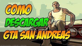 COMO DESCARGAR GTA SAN ANDREAS PARA PC WINDOWS 8.1 , 7 , 8 Y 10|Gratis|VOCES Y RADIOS|COMPLETAS