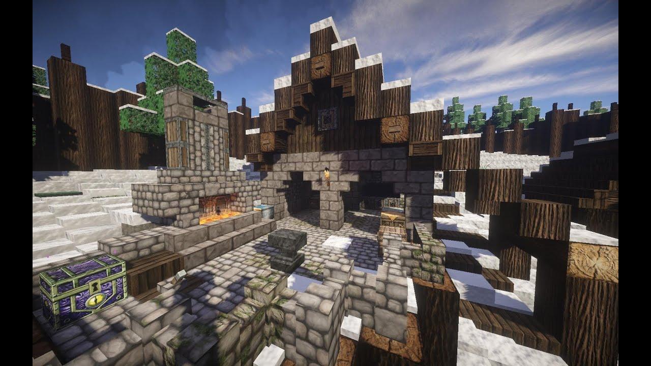 Minecraft Lets Show Wikinger Schmied YouTube - Minecraft wikinger hauser