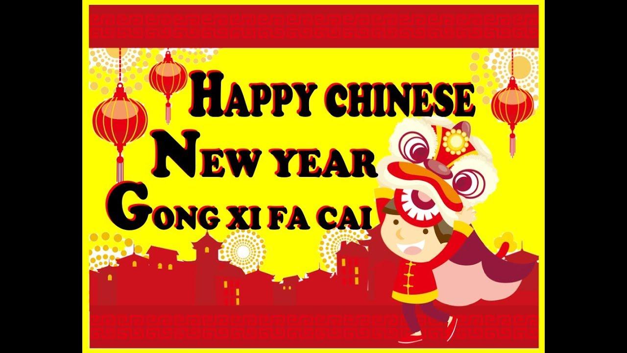 Membuat Kartu Ucapan Selamat Tahun Baru China Imlek Gong Xi Fa Chai 2019 Youtube
