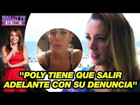 Brenda Carvalho asegura que Poly Ávila tiene que salir adelante con su denuncia sin temor a nada