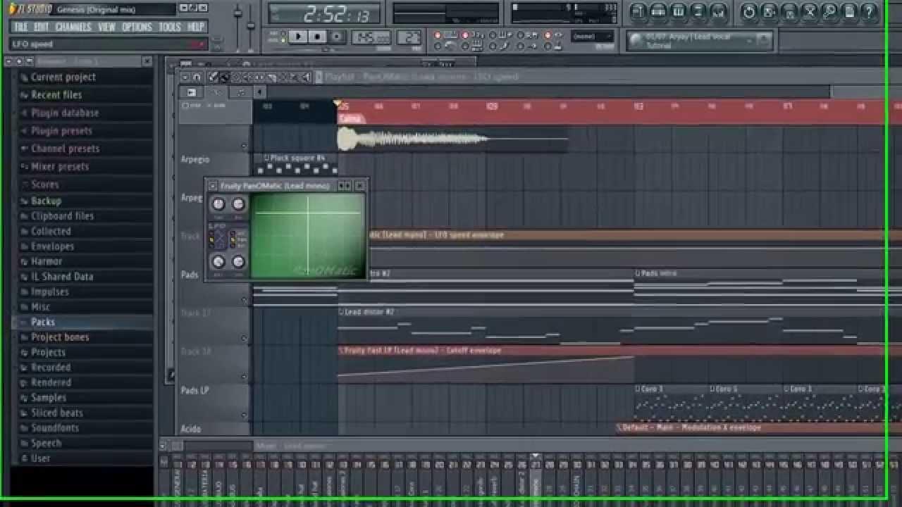 how to make a psytrance bassline in fl studio