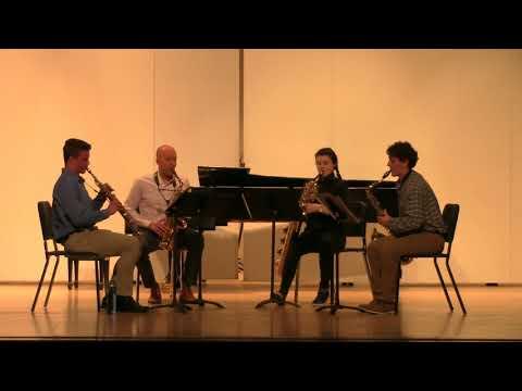 "06/14/18 Saxophone Quartet ""Andante et Scherzo"""