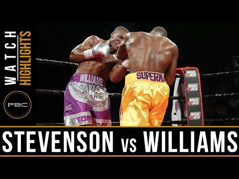 Stevenson vs Williams HIGHLIGHTS: July 29, 2016 - PBC on Spike