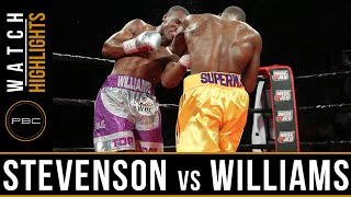 Stevenson vs Williams HIGHLIGHTS: July 29, 2016 - PBC on Spike
