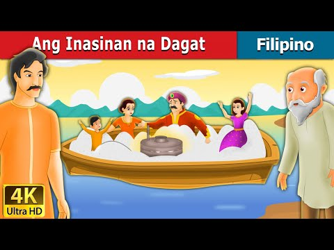 Ang Inasinan na Dagat | The Salty Sea Story in Filipino | 4K UHD | Filipino Fairy Tales