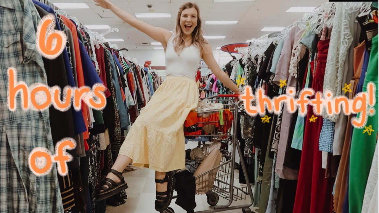 6 HOURS OF THRIFTING IN NASHVILLE    come thrift with me    summer 2020 thrift haul