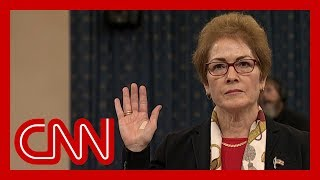 Former US Ambassador to Ukraine Marie Yovanovitch impeachment hearing full remarks