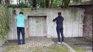 Wandliegestütze Fliescherberg Abteiberg - Muskelkater Rundweg