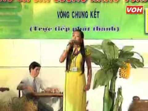 VOH Media   Thí sinh  Phạm Thị Diệu SBD  013 Bông bồn bồn rụng trắng Sáng tác  Trúc Linh   Trường tương tư 12 câu   08 12 2012