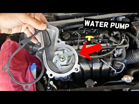 HOW TO REPLACE WATER PUMP ON KIA FORTE