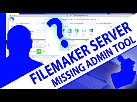 FileMaker Server 17-FileMaker Server 17 Missing Admin Tool-FileMaker Server 17 News-FileMaker News