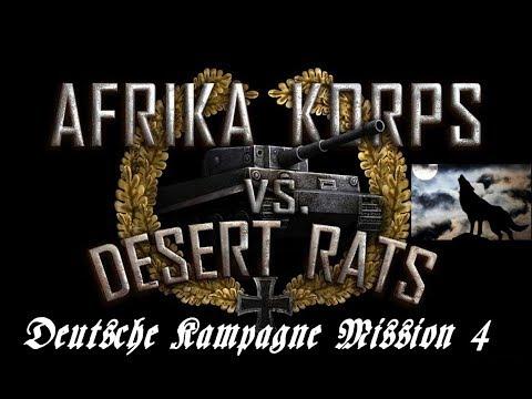 Afrika Korps vs Desert Rats Deutsche Kampagne Mission 4