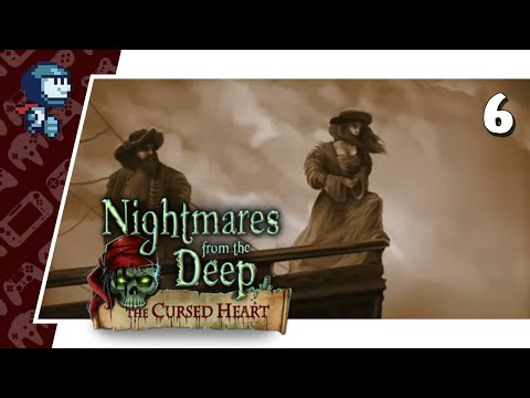 A DEMONIC PAINTING - Nightmares from the Deep: the Cursed Heart #6 (Let's Play/PC)  