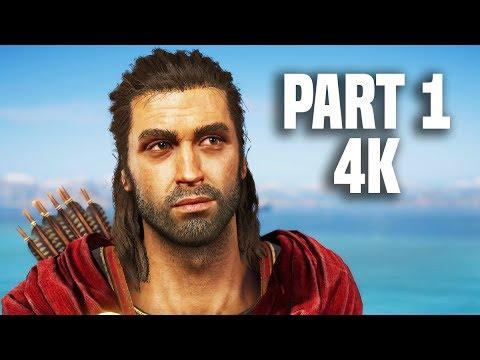 Assassin's Creed Odyssey Gameplay Walkthrough Part 1 - 4K EXCLUSIVE GAMEPLAY!