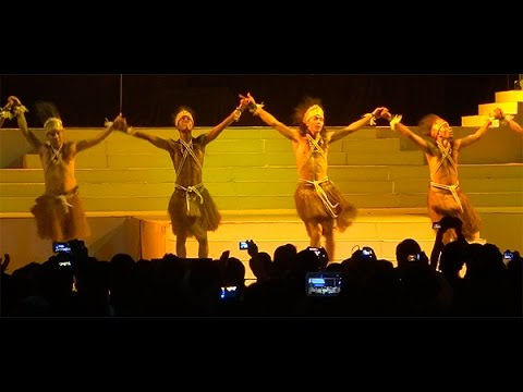 Defense from the Heart ★ Papua Ethnic Dance (World Tourism Day)