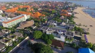 Bali Mantra Hotel Drone Profile