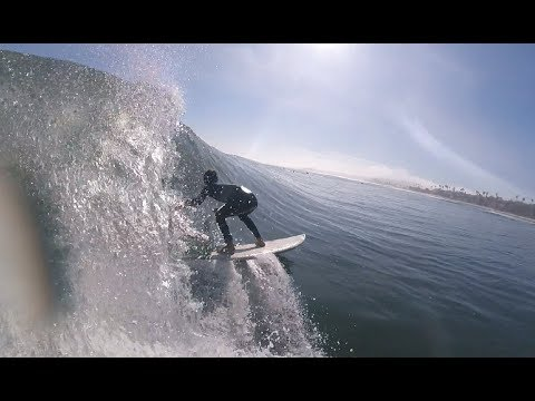 Barrel Snakes and Fails Surfing San Diego