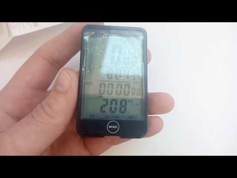 Как настроить велокомпьютер sunding 576a sigma inbike на 26, 29 колесо (настройка велокомпьютера)
