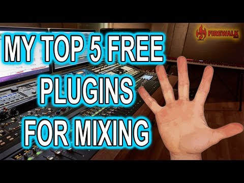 My TOP 5 FREE Plugins For Mixing